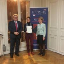 Remise des diplômes Fulbright