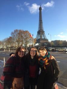 Retrouvailles avec Coralie et Anne-Laure